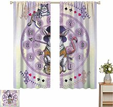 Toopeek Animal Shading insulated curtain Alice in