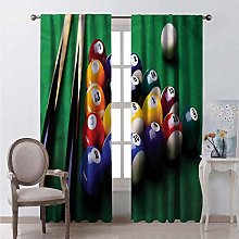 Toopeek Manly Shading insulated curtain Billiard
