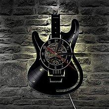 TOOWE 12 Inch Guitar Vinyl Record Design Wall