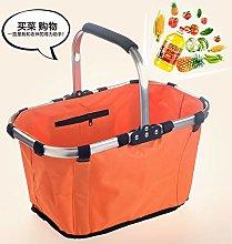 Tooyoo Upgraded fashion folding shopping basket