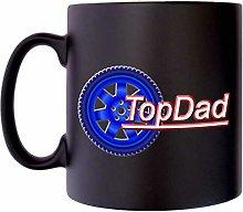 Top Dad Wheel Best Papa Klassek Daddy Mug Coffee