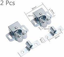 Top Quality 2PCS Door Closer Stopper Magnet Damper