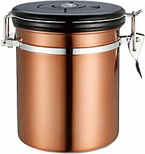 TOPBATHY Coffee Canister Stainless Steel Storage