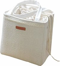 TOPBATHY Lunch Box Bag Cotton Linen Insulated Bag