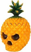 TOPBATHY Pineapple Desktop Storage Case Skeleton