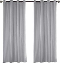 Topchances Home Curtains Indoor/Outdoor Solid