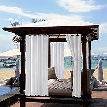 TOPCHANCES Outdoor Blackout Waterproof Curtain,