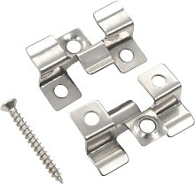Topdeal 100 pcs Decking Clips with 200 Screws