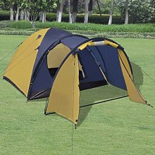 Topdeal 4-person Tent Yellow VDTD32250