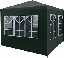 Topdeal Party Tent 3x3 m Green VDTD29251