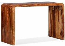 Topdeal Sideboard/Desk Solid Sheesham Wood Brown