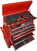 Topdeal Tool Trolley with Tools 7 Layers VDTD04483