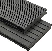 Topdeal WPC Solid Decking Boards with Accessories