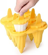 Topelec Silicone Ice Lolly Moulds Set For Kids and