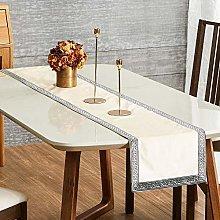 Topfinel Cream Dining Table Runner 72 Inches 6ft