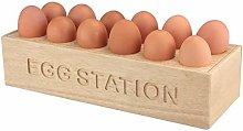 TopgadgetsUK Wooden Egg Holder Display Holder