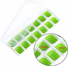Topker Ice Cube Trays Ice Cube Mould Silicone