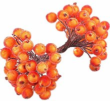 TopKi Direct Artificial Fruit Berry Holly Flower,