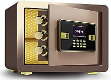 TOPNIU Fireproof Safe, Home Small Electronic Safes