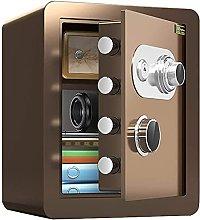 TOPNIU Home Fireproof Mechanical Safes, with Key,