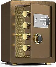 TOPNIU Password Key Lock Safe, Fireproof and