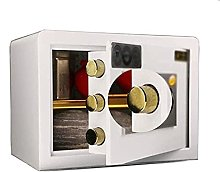 TOPNIU Safe Box All-Steel Double-Layer Mechanical
