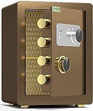 TOPNIU Safe Box, Alloy Steel Mechanical Lock,