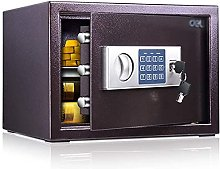 TOPNIU Safe Box High Security Steel Lock Safes and