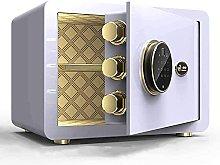 TOPNIU Safe Box Home Security with Keypad, Safes