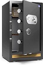 TOPNIU Safes Home Business Safe, Cryptographic Key