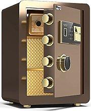 TOPNIU Steel Fireproof Safe, Fingerprint Password