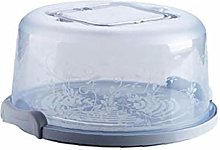 TOPofly Cake Carrier Large Lockable Plastic Cake