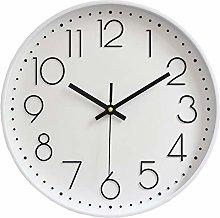 TOPPTIK 12 Inch Modern Wall Clock Silent Non