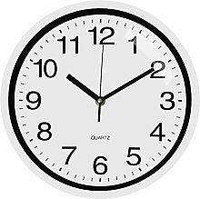 TOPPTIK Wall Clock -10 Inch Modern Digital Wall