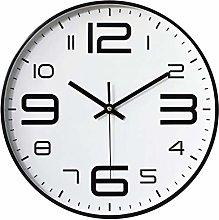 TOPPTIK Wall Clock-12 Inch Silent Non-Ticking