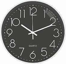 "TOPPTIK Wall Clock-12"" Modern Digital Silent"