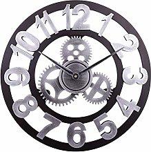 TOPPTIK Wall Clock-16 inch European Retro Clock