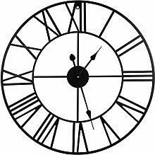 TOPPTIK Wall Clock-24 inch European Retro Clock