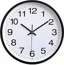 TOPPTIK Wall Clock-Modern Digital Silent Non