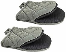 TOPSKY Mini Oven Mitts Microwave Mitts Pot Holder
