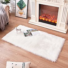 Topspitgo Rugs living room,Soft Faux Sheepskin