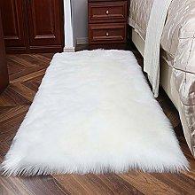 Topspitgo Super Soft Fluffy Faux Sheepskin Fur