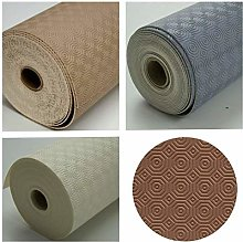 Toptablecloths Table protector ROUND (Brown, ROUND