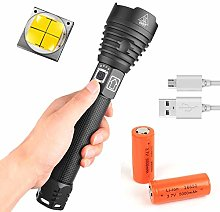 Torch LED Rechargeable Powerful 20000 Lumen,