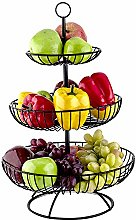 TOROTON 3 Tier Fruit Basket, Countertop Metal