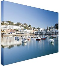 Torquay Harbour, Devon, England Canvas Art Cheap
