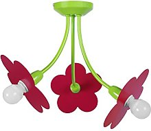 Tosel 21091Chandelier 3Lights, Steel and