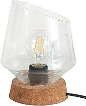 Tosel 64065 Oblique M Cork Lamp/Blown Glass 190 x