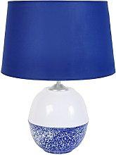 Tosel 64298Light Blue Mottled Cotton Sheet