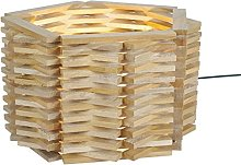 Tosel 64330niiagata Lamp Solid Beech Wood
